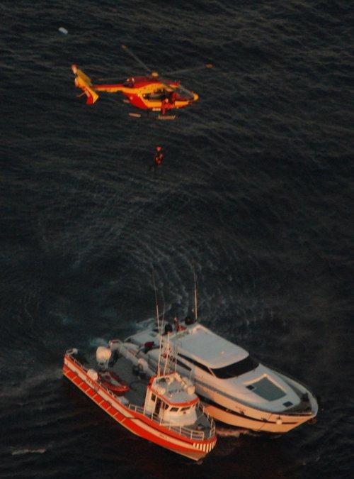 Naufrage du yacht Maracana au large de Calivi en Corse