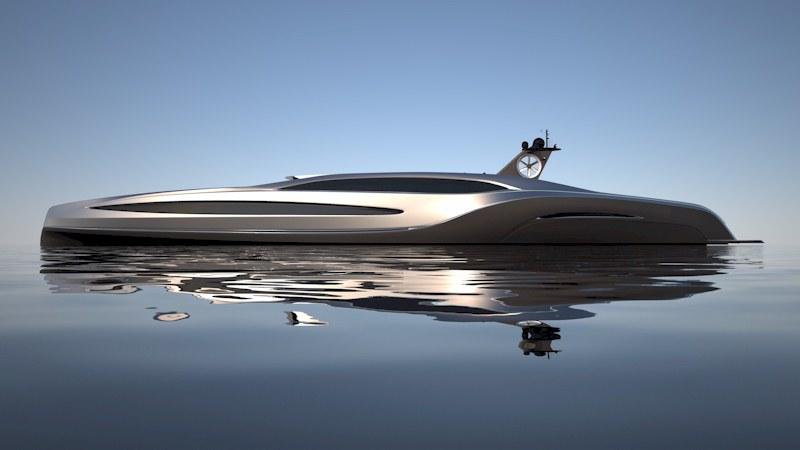 Gray Design : Yacht de luxe Sovereign