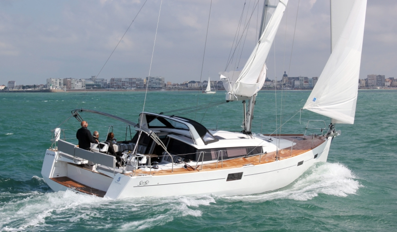 Bénéteau voilier Sense 46 en mer