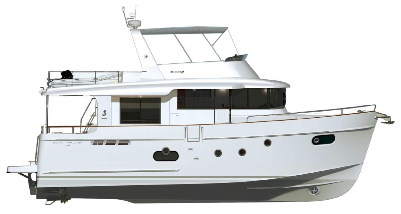 Bénéteau Trawler 50 plan