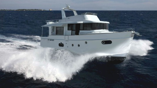 Bénéteau Trawler 50 en mer