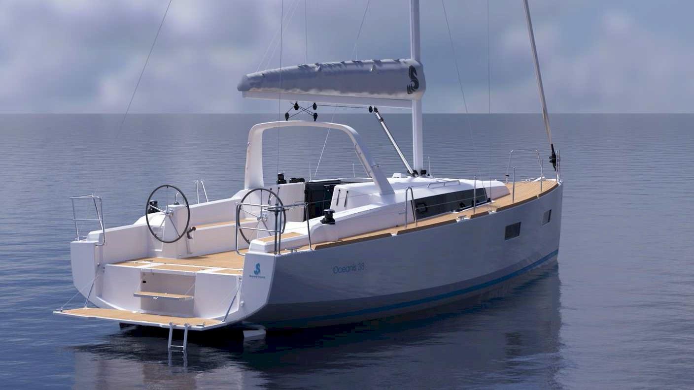 Bénéteau Oceanis 38 en mer